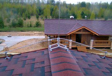 Монтаж и демонтаж молниеотводов