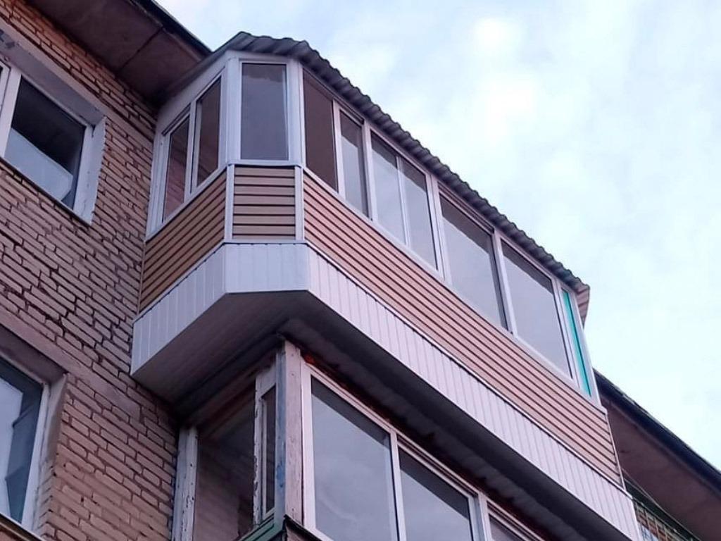Монтаж балконов под ключ