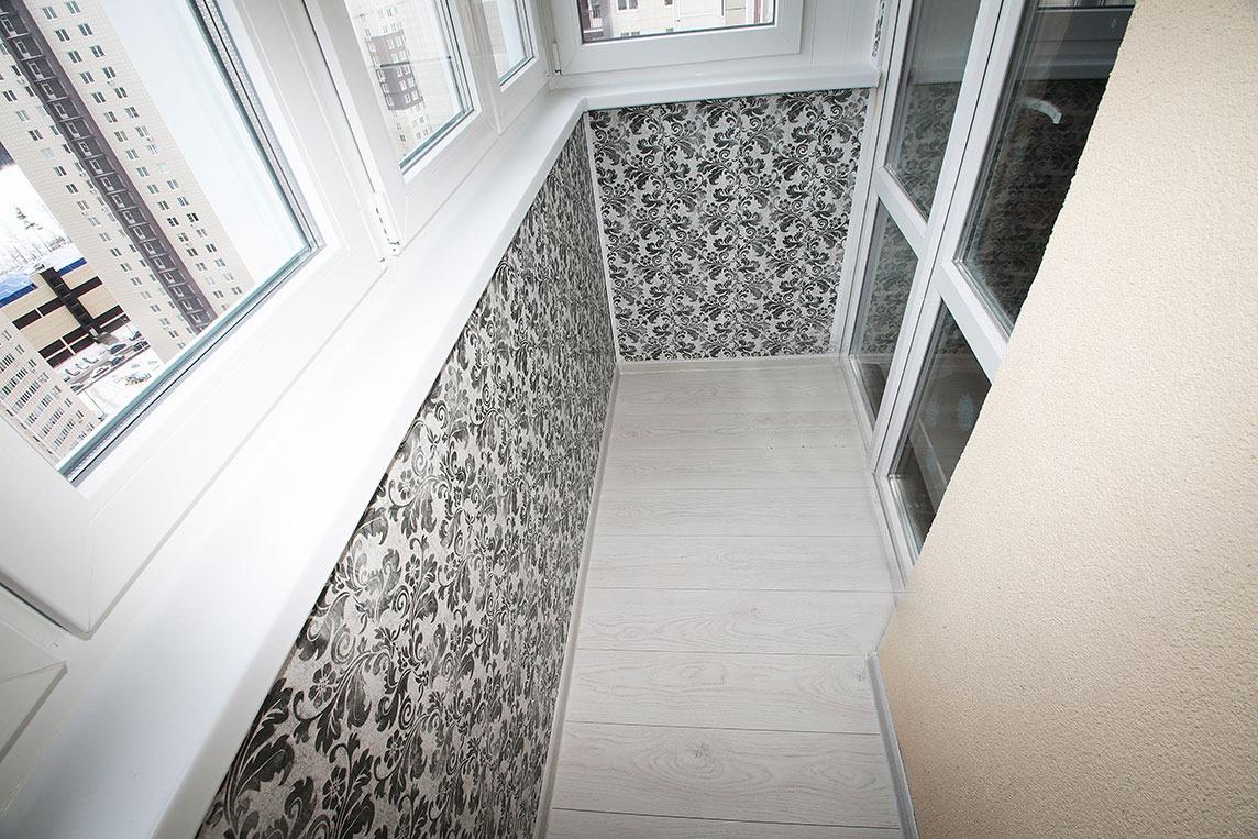 Отделка балконов и лоджий снаружи и внутри