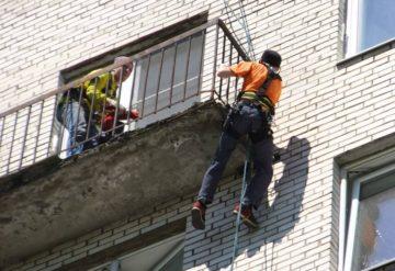 Реставрация балконных плит